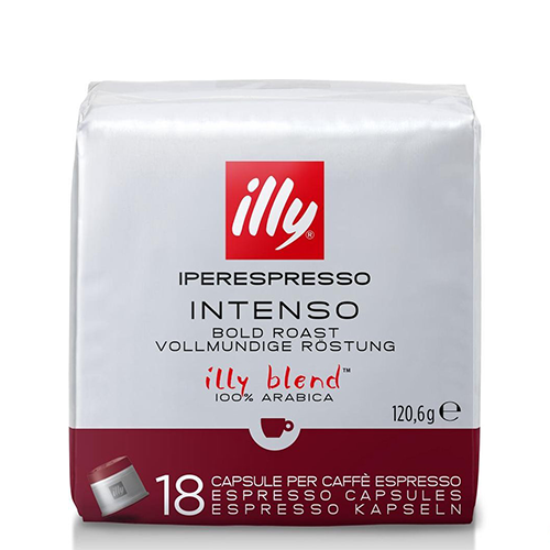 Illy Iperespresso capsules Intenso