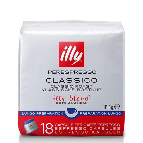 Illy Iperespresso capsules classico lungo