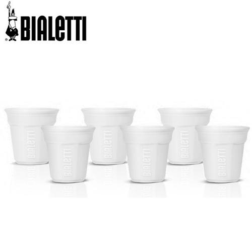 Bialetti Bicchierini espresso kopje wit 6st