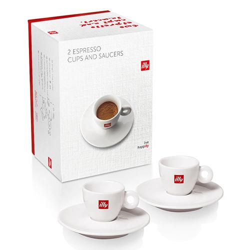 Illy Espresso kopje giftbox 2st