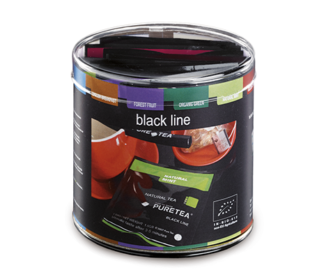 PURETEA black line proefdoosje (12 smaken)