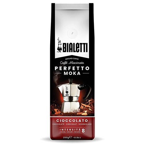 Bialetti Perfetto Moka Cioccolato gemalen koffie