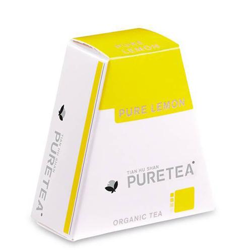 PURETEA Thee Pure Lemon white line